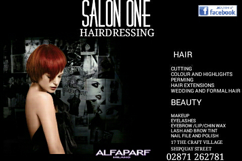 Salon One Flyer